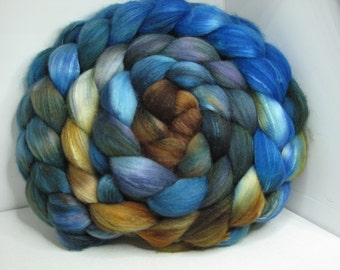 Organic Polwarth/Bombyx 80/20 Roving Combed Top 5oz - Sonoma Song 1