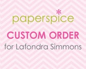 Custom Order for Lafondra Simmons – Custom Printable  2 inch Circle Favor Tag for Baby Shower (Digital File)