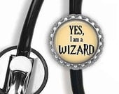WIZARD Nurse Stethoscope Id Tag - Nursing Student, Gifts for Nurses, Student Nurse Gift, Graduation Gift, Stethoscope Accessories