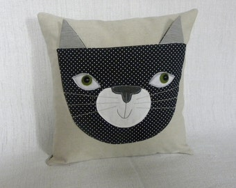 Mister Meow   pillow cover