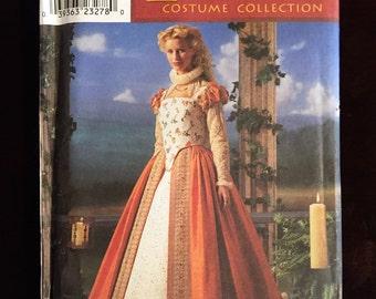 Simplicity #8881: Elizabethan Costume Collection Gown SZ 6-12
