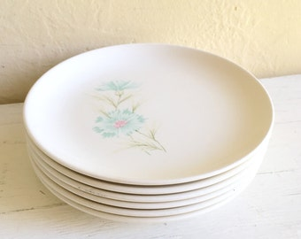 Matching Vintage Taylor Boutonnière Ever Yours Floral Small Plates 6