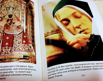 RELICS Book Saints BVM Miraculous Statues The Passion +++