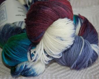 Studio June Yarn Super Cash Sock - Cashmere, Merino, Nylon - Color:  Multi