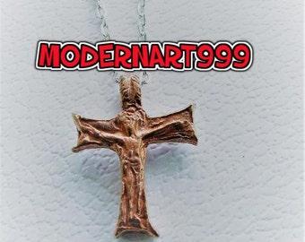 Jesus Medieval times  Cross Franciscan Tau Cross Bronze Tau cross of St Francis   Pendant new design tau cross