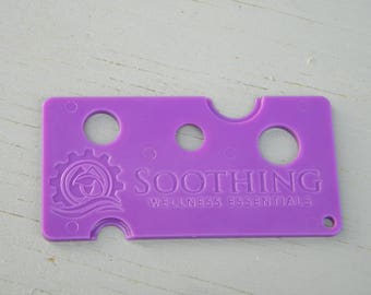 Purple Essential Oil Bottle Opener Tool