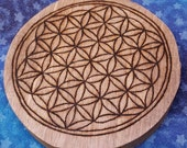CUSTOM Grid - Crystal Grid - Crystal Healing - Altar Board - Astrology Grid - Crystal Kit - Moon Phases - Rune Grid - Crystal Kit