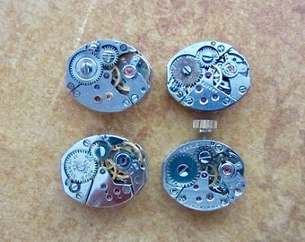 Steampunk watch parts - Vintage Antique Watch movements Steampunk - Scrapbooking L27