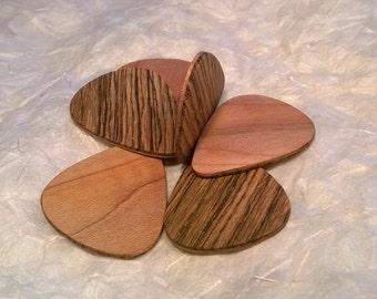 Wood Guitar Picks - Laminated - Free Shipping