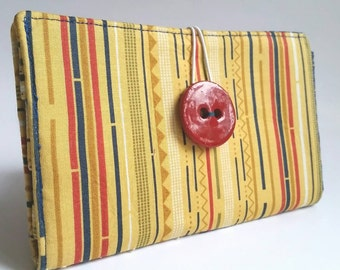 Tampon and Pad Clutch - Sunny Stripes
