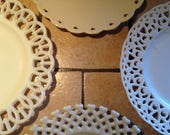 Instant Collection of Lacy China Plates