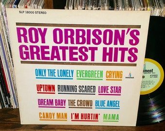 Roy Orbison's Greatest Hits Vintage Vinyl Record
