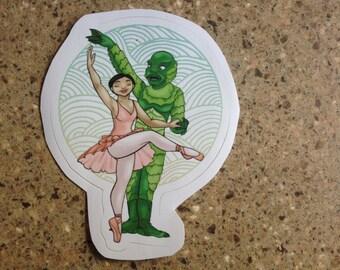 Swamp Lake - sticker