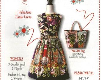 Trisha Jane Classic Dress Pattern - Trisha Jane Sewing Patterns (TJP-4244)