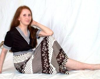 Authentic 1970s Maxi Dress
