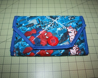 Spiderman Notepad Cover Clutch