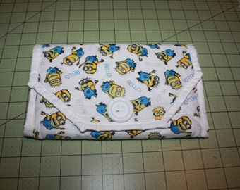 Minions Notepad Cover Clutch