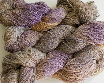 Sparkle, Hand painted fine cotton/metallic yarn, 300 yds - Summer