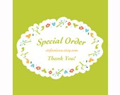 Special order for  NettieMaeMar**