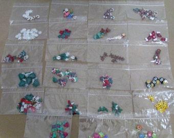 28 Button Packs Christmas, Jesse James, Dress It Up