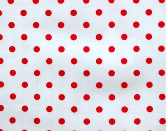 Ava Rose Collection Red Dots Fabric by Tanya Whelan TW08