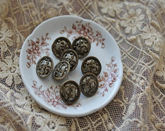 Victorian Metal Buttons