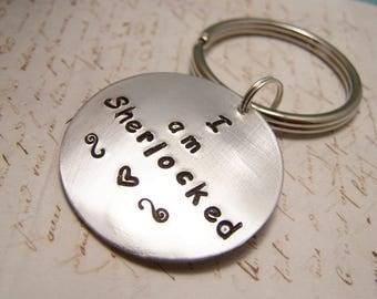 I Am Sherlocked Keychain. Sherlock Holmes