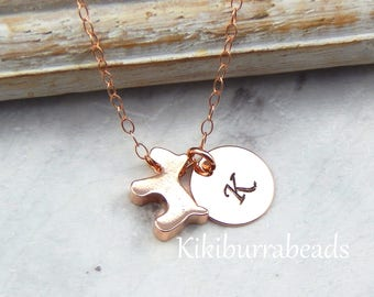 Puppy Dog Necklace,Dog Lover Necklace,Personalized Puppy Dog Jewelry,Slider Dog Necklace,Mothers Day Gift