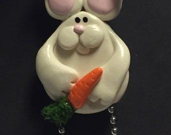 Funny Bunny Pin