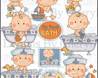 Baby Love First Baby Clipart Collection - Immediate Download