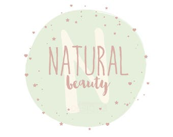 Premade Natural Beauty Business Logo Design