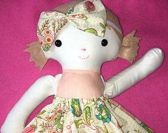 Ready to ship cloth girl doll