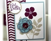 Stampin Up Feel Better Card