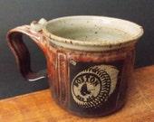 Soup, Chili, Chowder Mug ~ Boston Red Sox Design ~