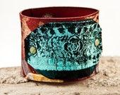 Leather Jewelry Leather Bracelet - Southwest Bohemian Gypsy Fashion