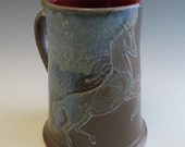 Rearing Ghost Horse & Tree Stein