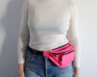 Fanny Pack Vintage Neon Pink