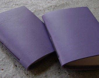 2 small pocket-size memo pads, lavender pocket diary, little sketchbooks, (2514)