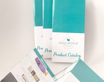 Customizable 8 panel pricing catalog photography brochure template, customize in Photoshop