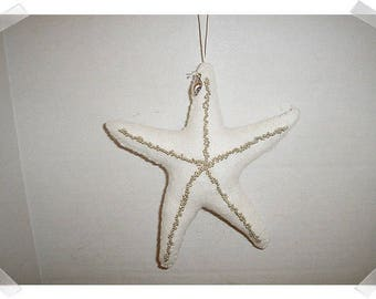 Large Starfish Ornament*/Made of Felt/ Handmade/**Made to Order**