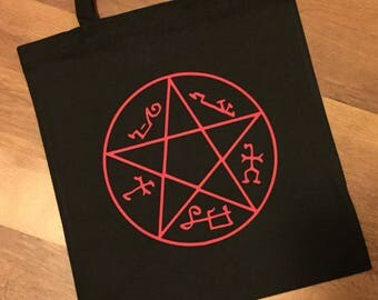 devils trap supernatural skirt