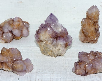 Spirit Quartz Gemstone Cluster - Increase Spiritual Energy in Your Home