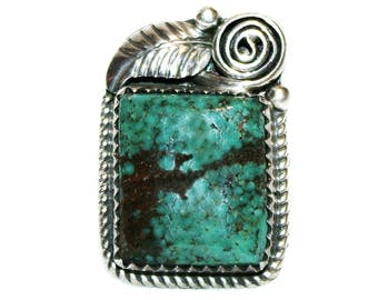 Vintage Sterling Silver and Turquoise Ring