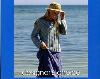 Elsebeth Lavold Designer's Choice Knitting Pattern Book 5 The Summer Breeze Collection - 17 Designs for Men, Women & Children