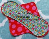 EXPOSED CORE, CUSTOM Cloth Pantyliner or Menstrual Pad