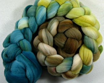 Enchanted merino wool top for spinning and felting (4.2 ounces)