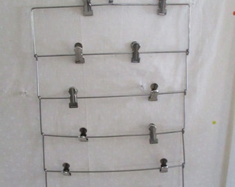 Metal Hanger Pant Skirt Folding 6 tier