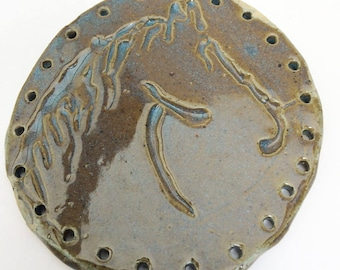Horse Pottery Base for Basketry