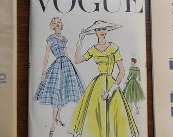 Vogue Sewing Pattern 8836 One Piece Dress Size 14 VINTAGE by Plantdreaming