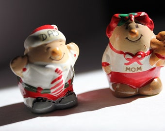 Christmas Human Beans Mom & Dad Enesco